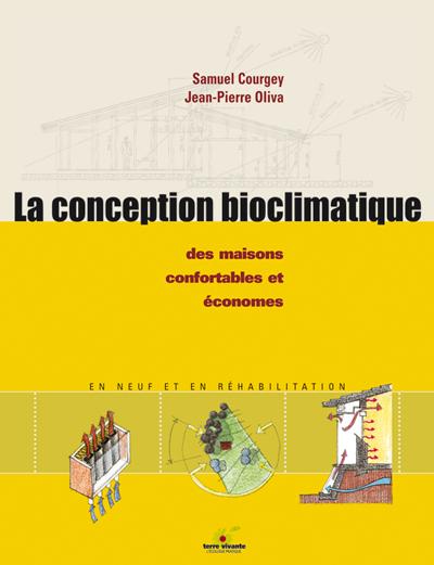 Livre La conception bioclimatique - Terre vivante