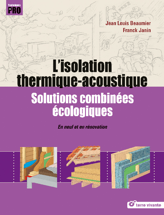 Livre L'isolation thermique-acoustique - Terre vivante