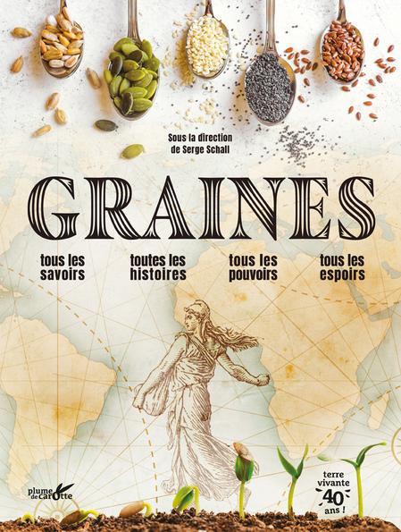 Couverture livre Graines - Terre vivante